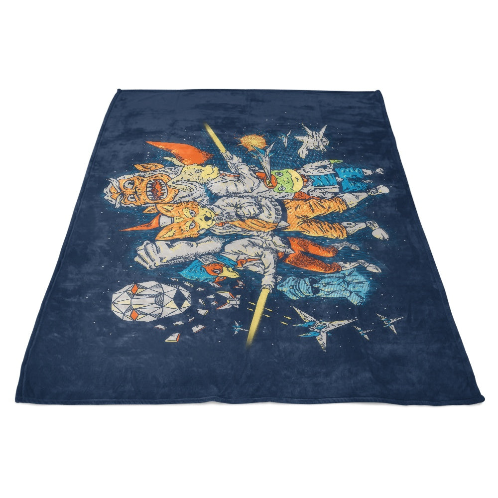 Star Team - Fleece Blanket