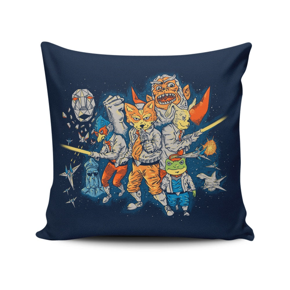 Star Team - Throw Pillow