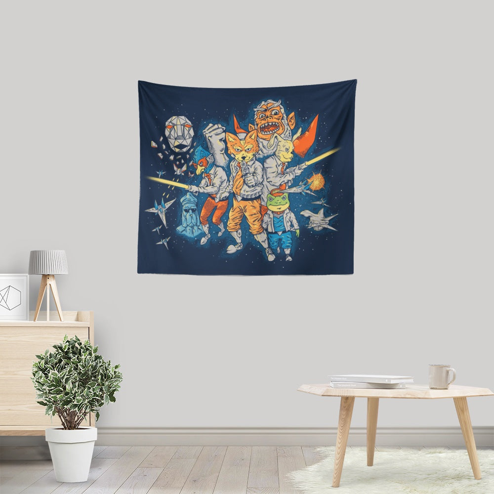 Star Team - Wall Tapestry