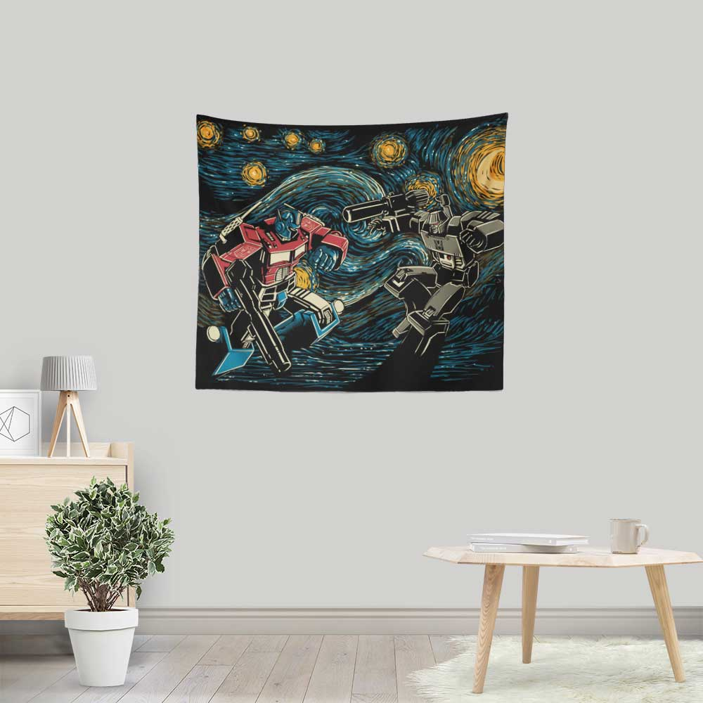 Starry Battle - Wall Tapestry