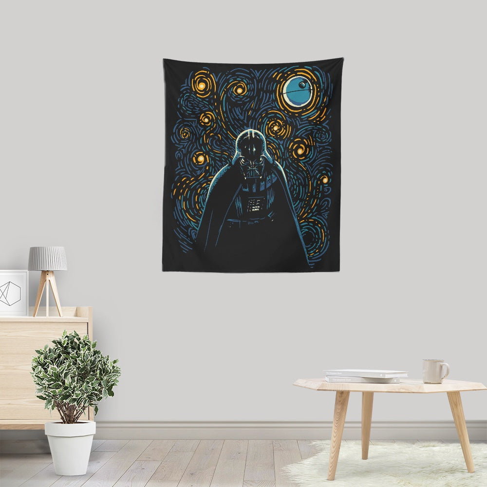 Starry Dark Side - Wall Tapestry