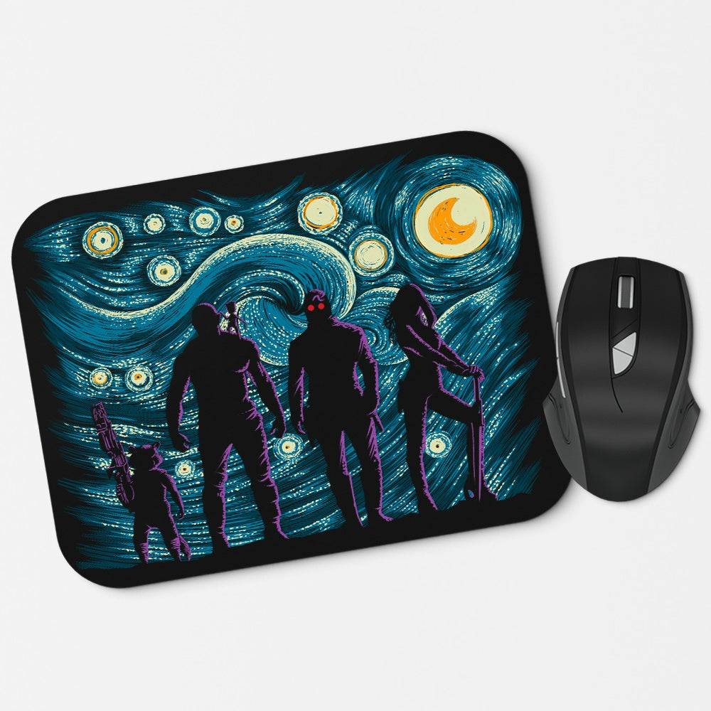 Starry Galaxy - Mousepad
