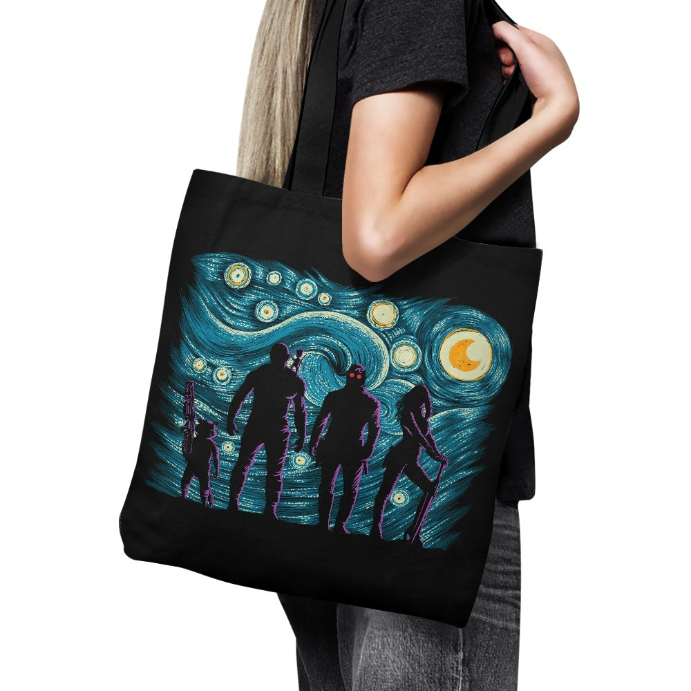 Starry Galaxy - Tote Bag
