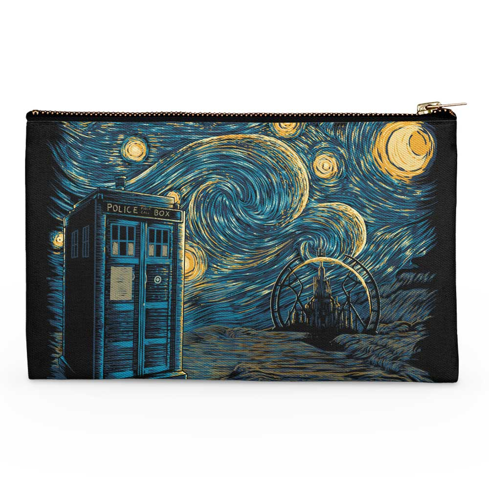 Starry Gallifrey - Accessory Pouch