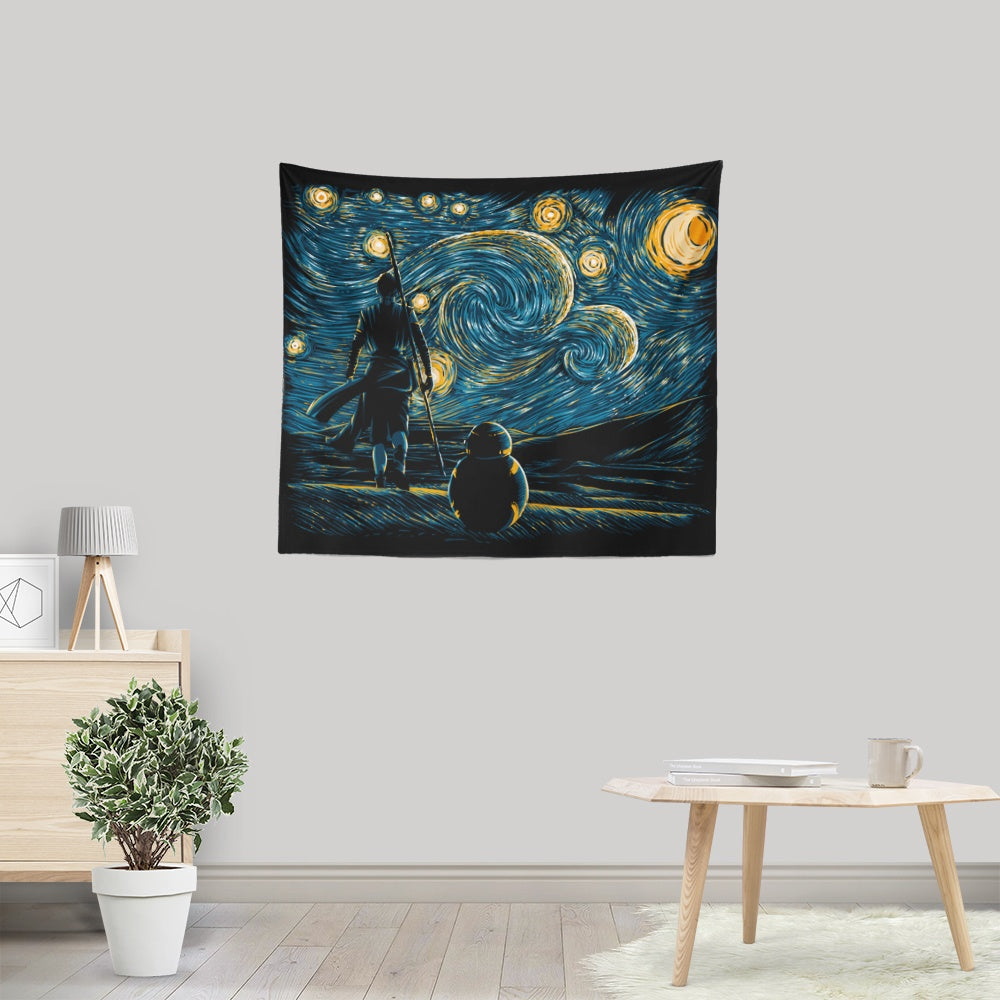Starry Jakku - Wall Tapestry
