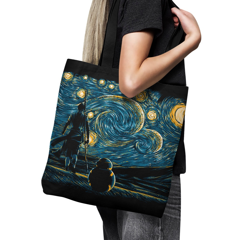 Starry Jakku - Tote Bag