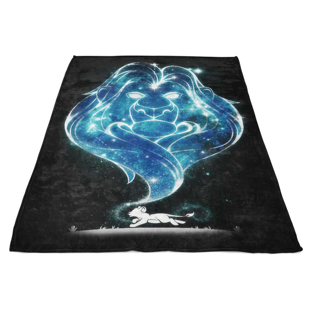 Starry Lost King - Fleece Blanket