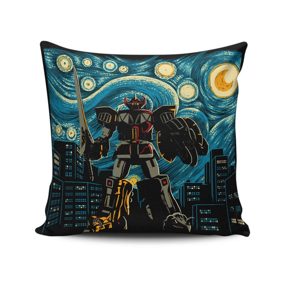Starry Megazord - Throw Pillow