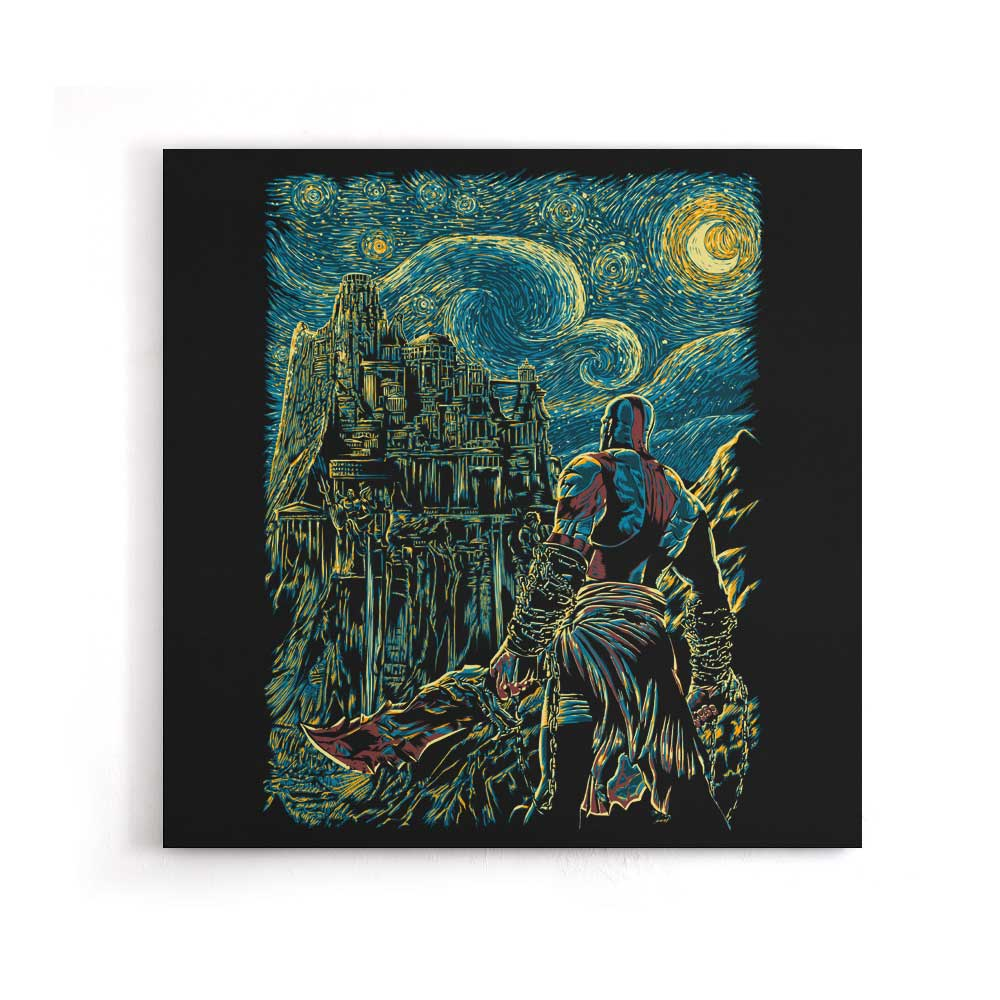 Starry Olympus - Canvas Print