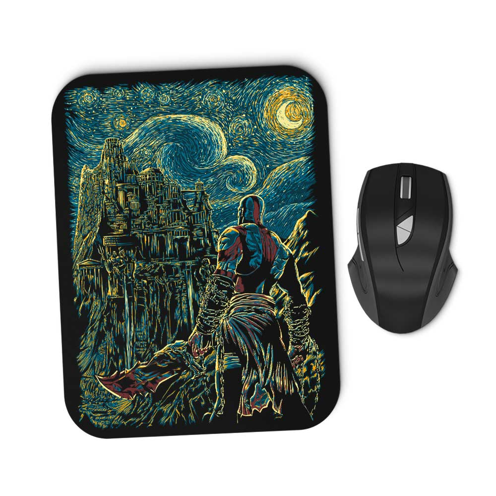 Starry Olympus - Mousepad