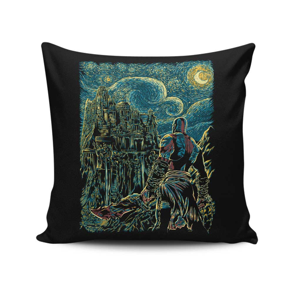 Starry Olympus - Throw Pillow