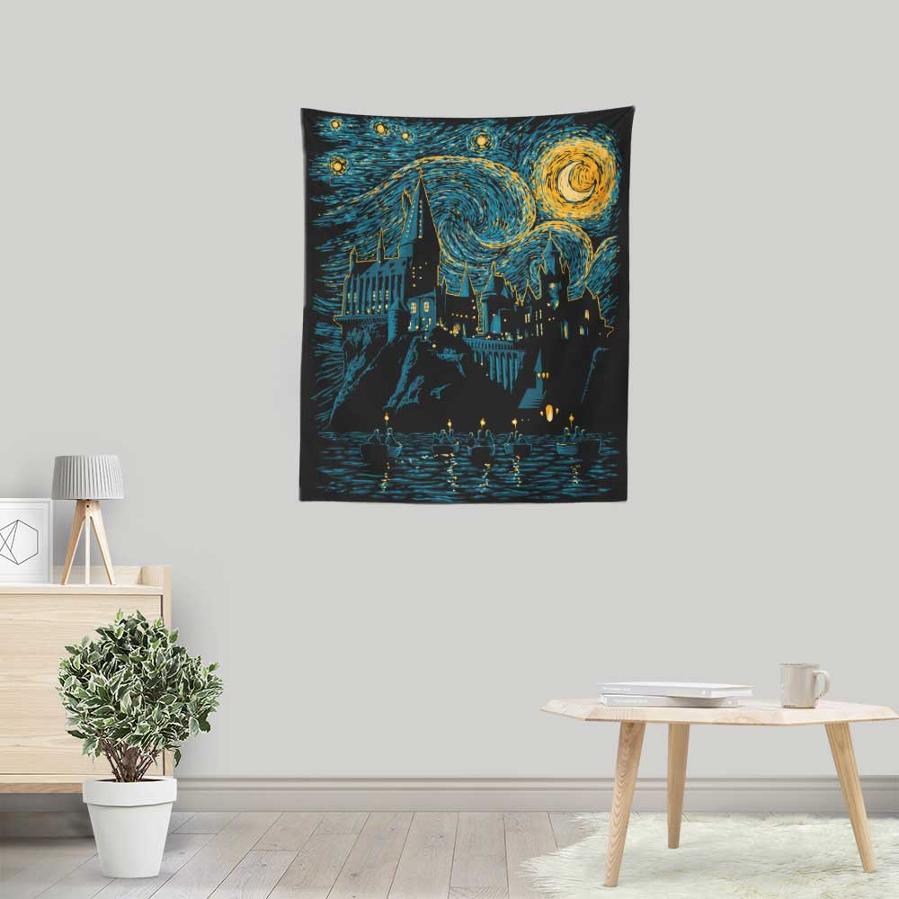 Starry School - Wall Tapestry