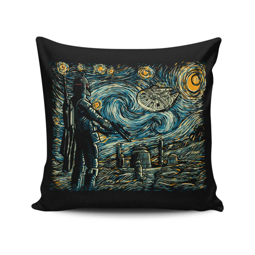 Starry Wars - Throw Pillow