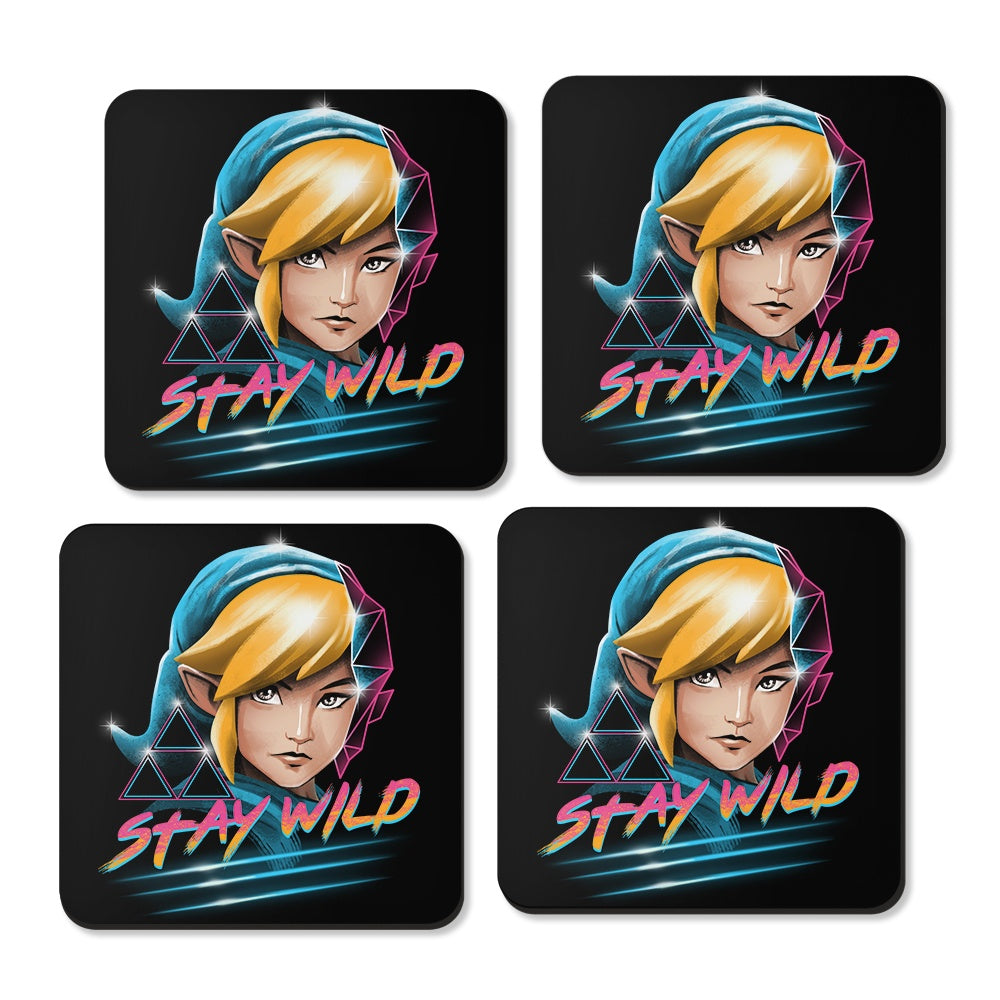 Stay Wild - Coasters