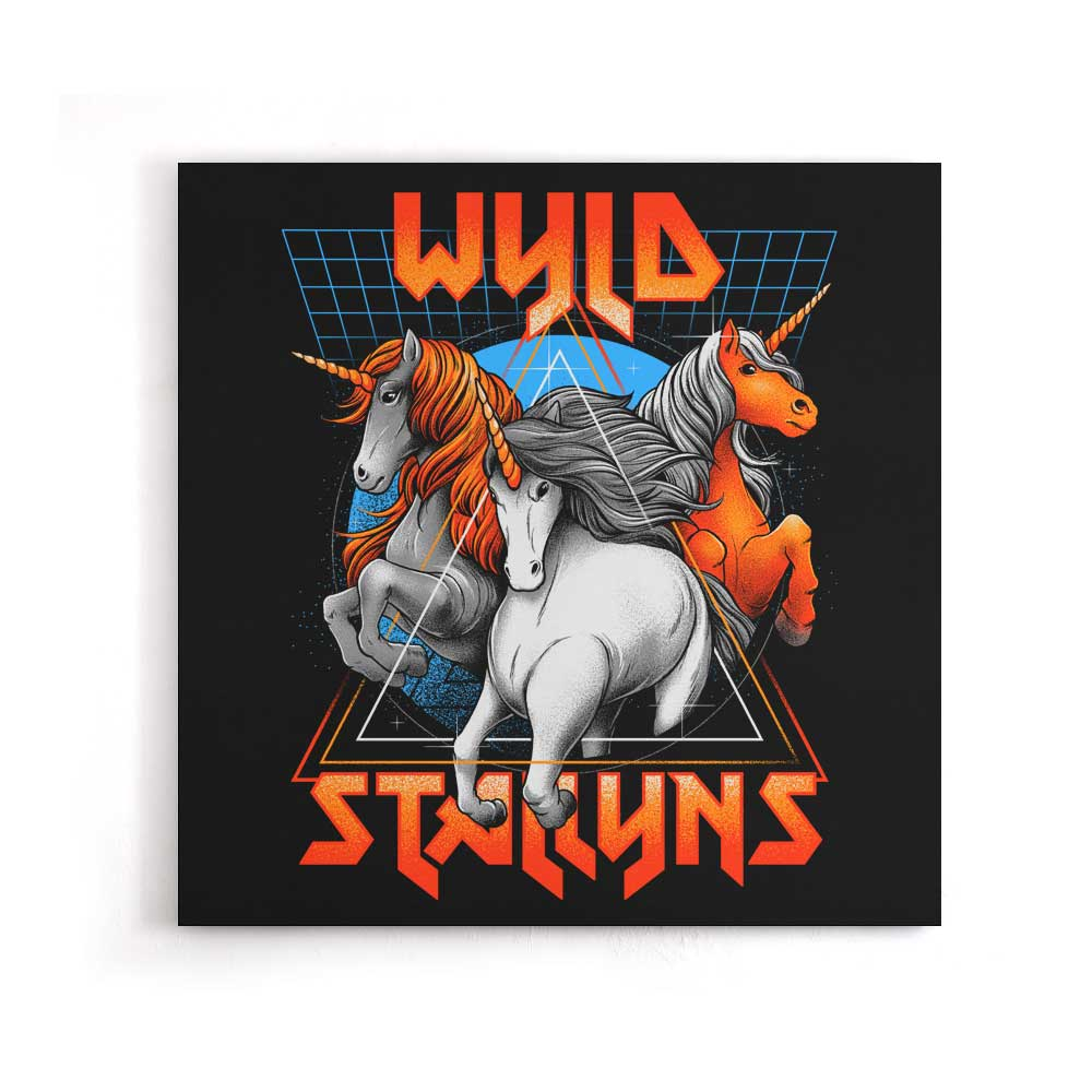 Stay Wyld - Canvas Print