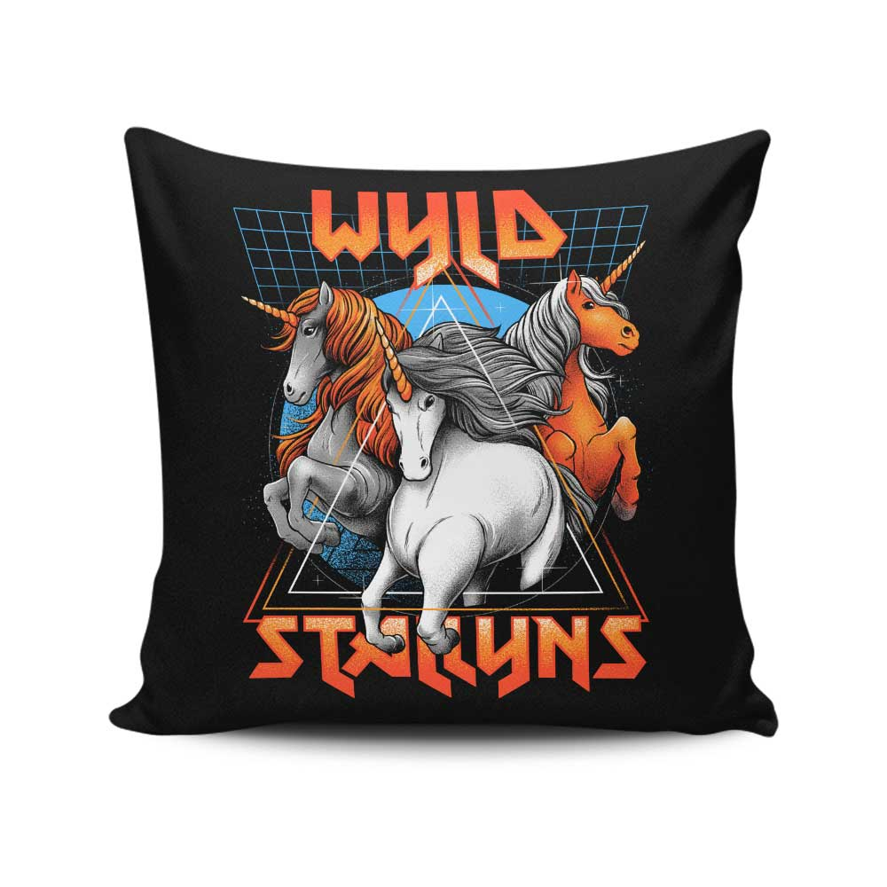 Stay Wyld - Throw Pillow