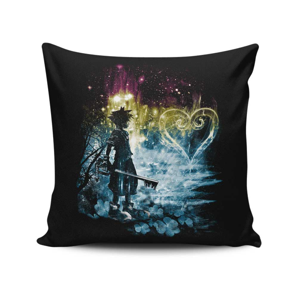 Storm of Hearts - Throw Pillow