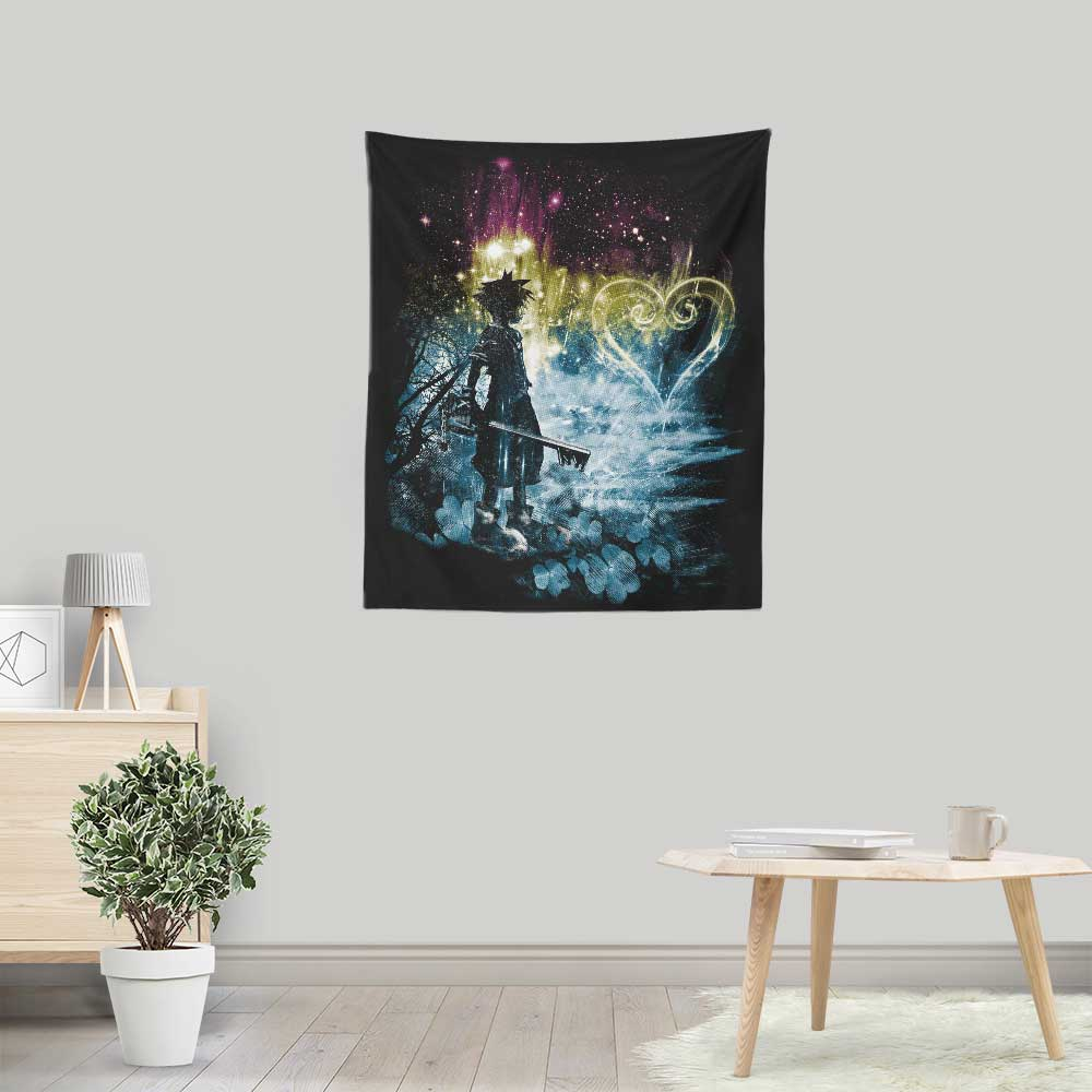 Storm of Hearts - Wall Tapestry