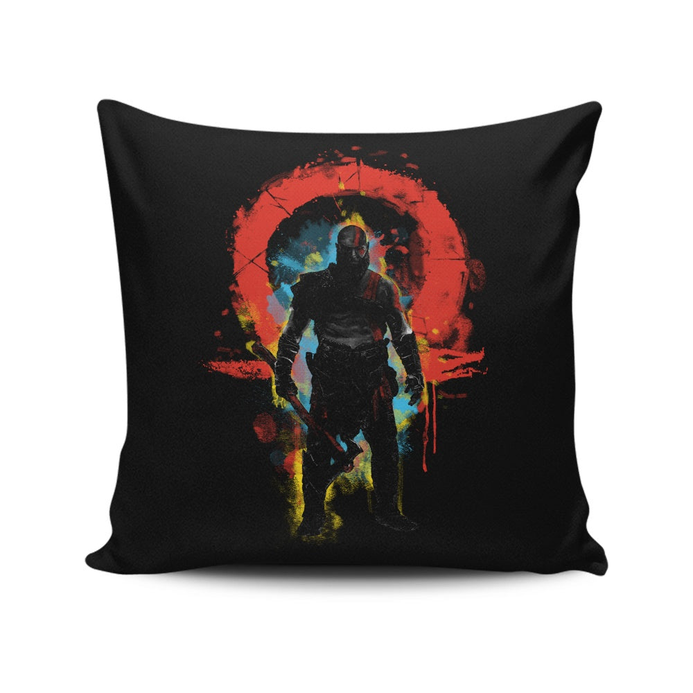 Storm of War - Throw Pillow