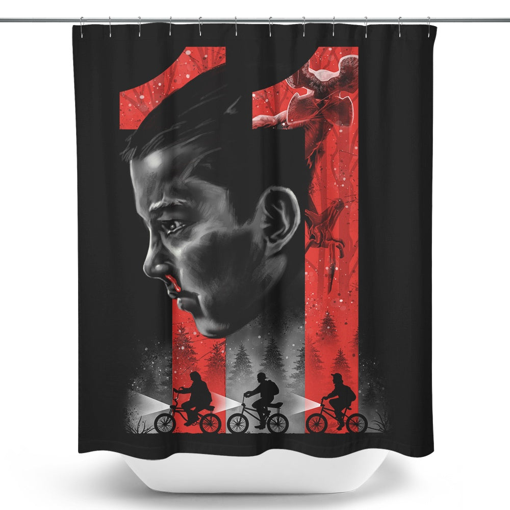 Strange Girl - Shower Curtain