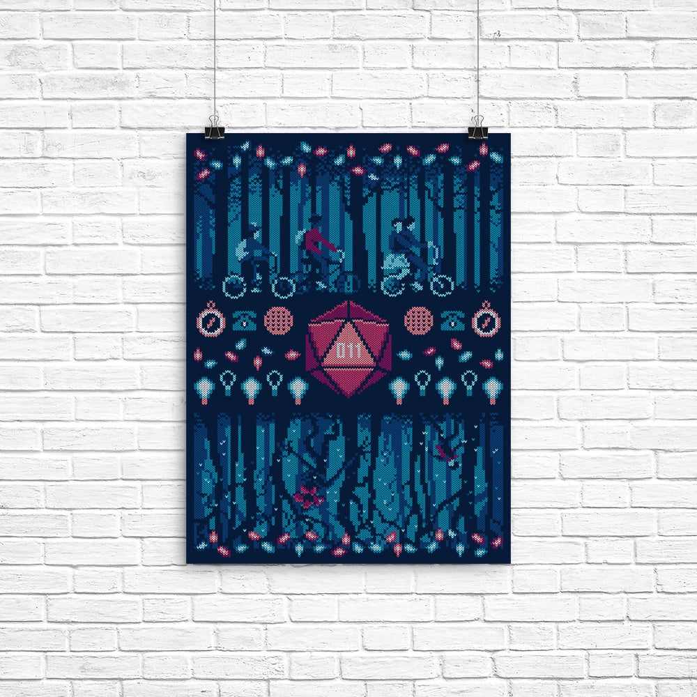 Strange Ugly Sweater - Poster