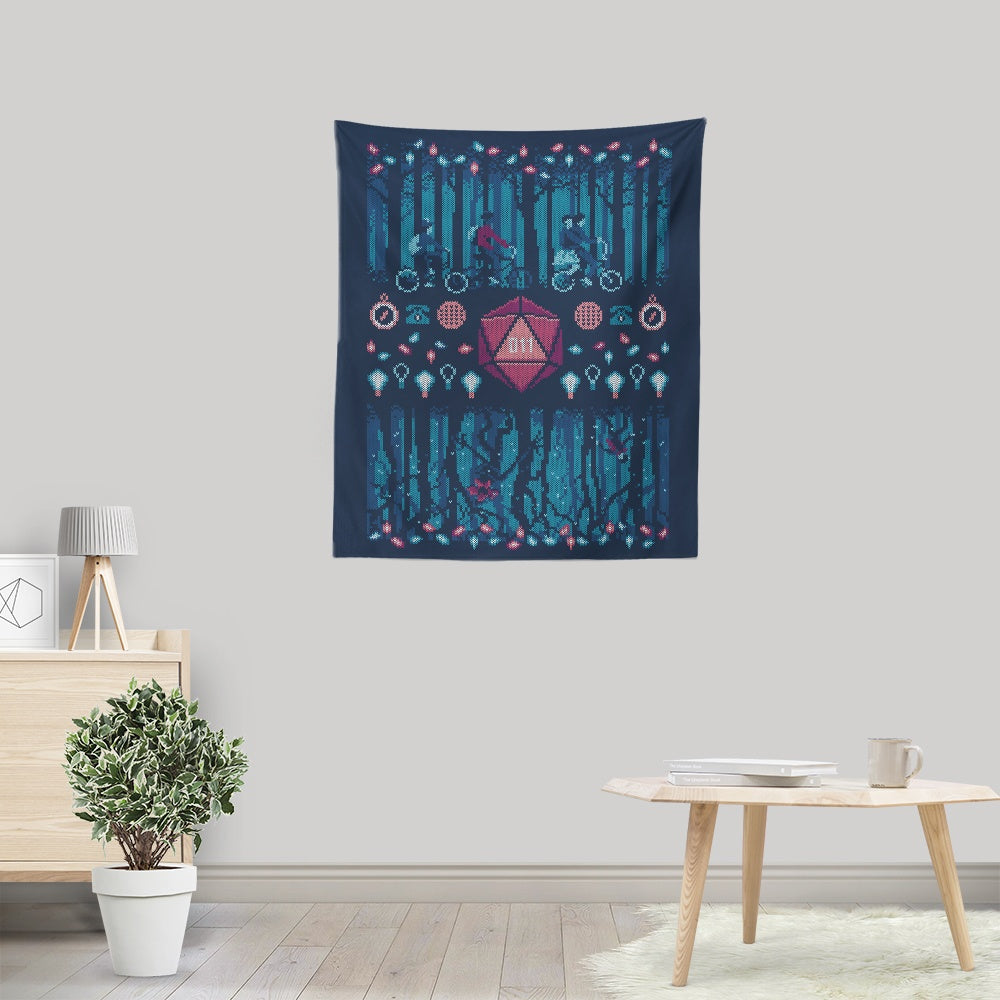 Strange Ugly Sweater - Wall Tapestry