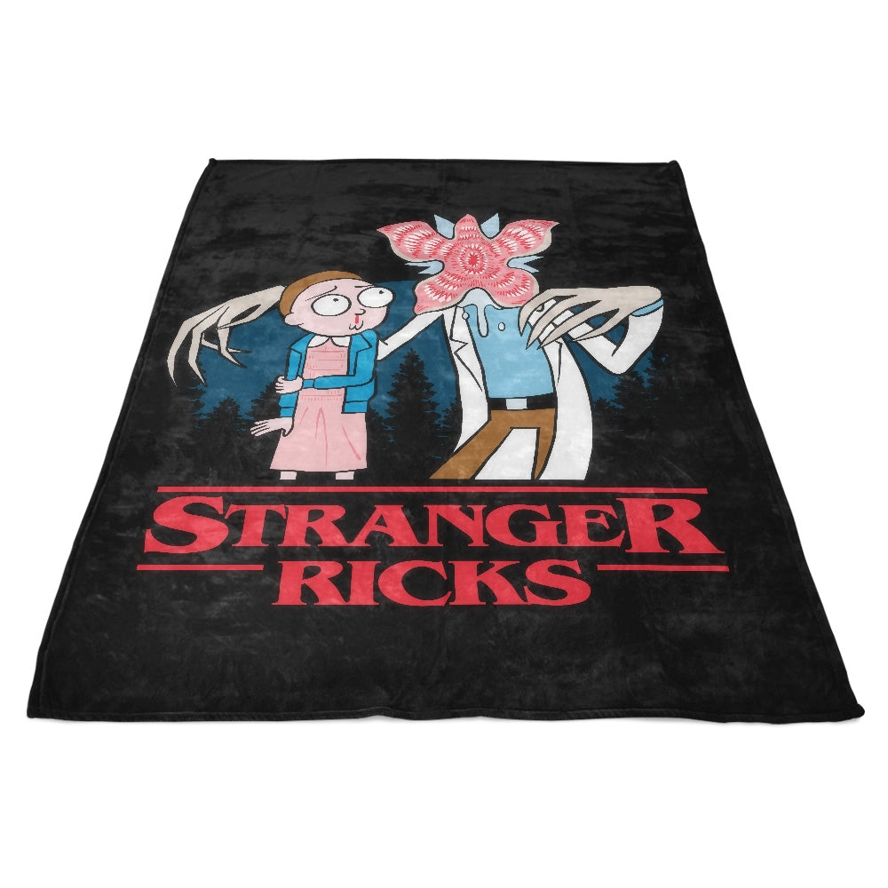 Stranger Ricks - Fleece Blanket