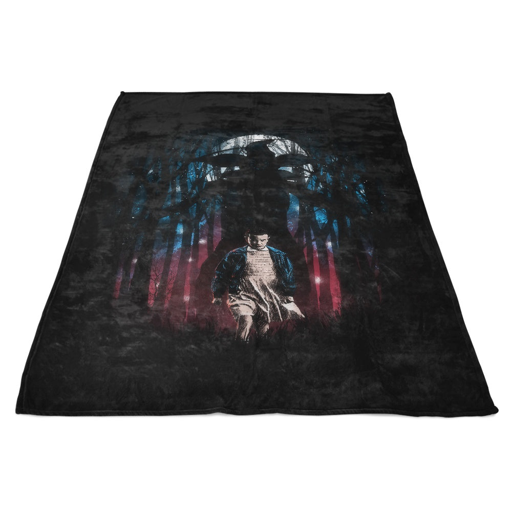 Stranger Woods - Fleece Blanket