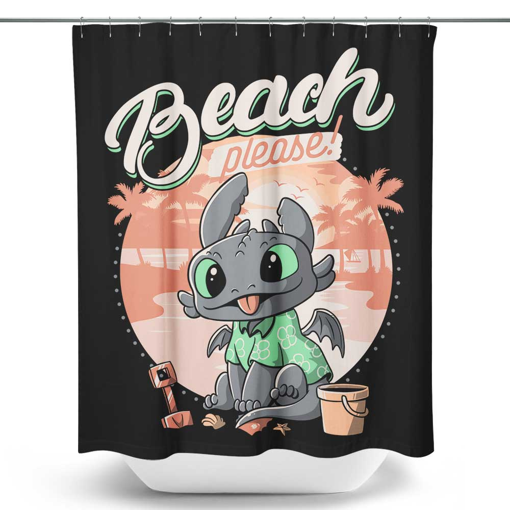 Summer Dragon - Shower Curtain