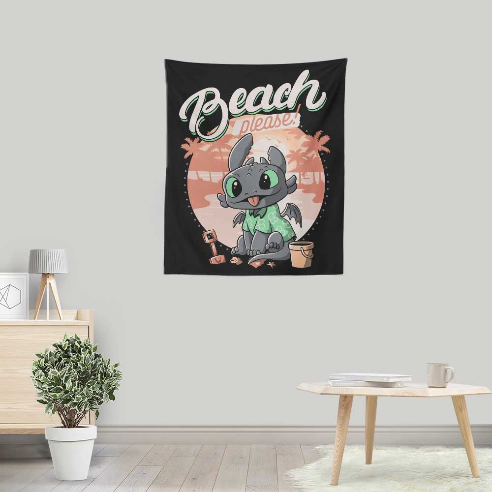 Summer Dragon - Wall Tapestry