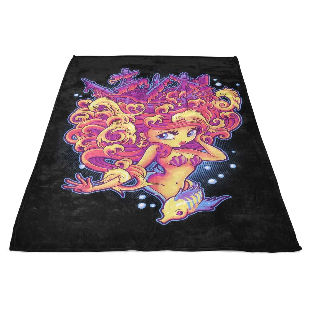 Sunken Treasure - Fleece Blanket