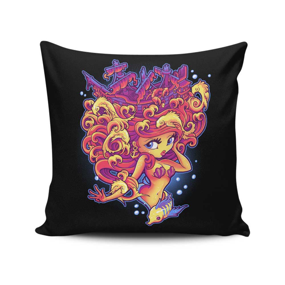 Sunken Treasure - Throw Pillow
