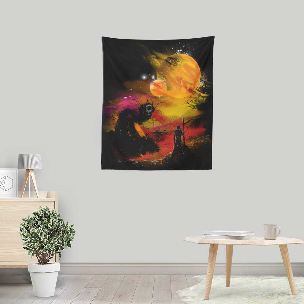 Sunset on Arrakis - Wall Tapestry
