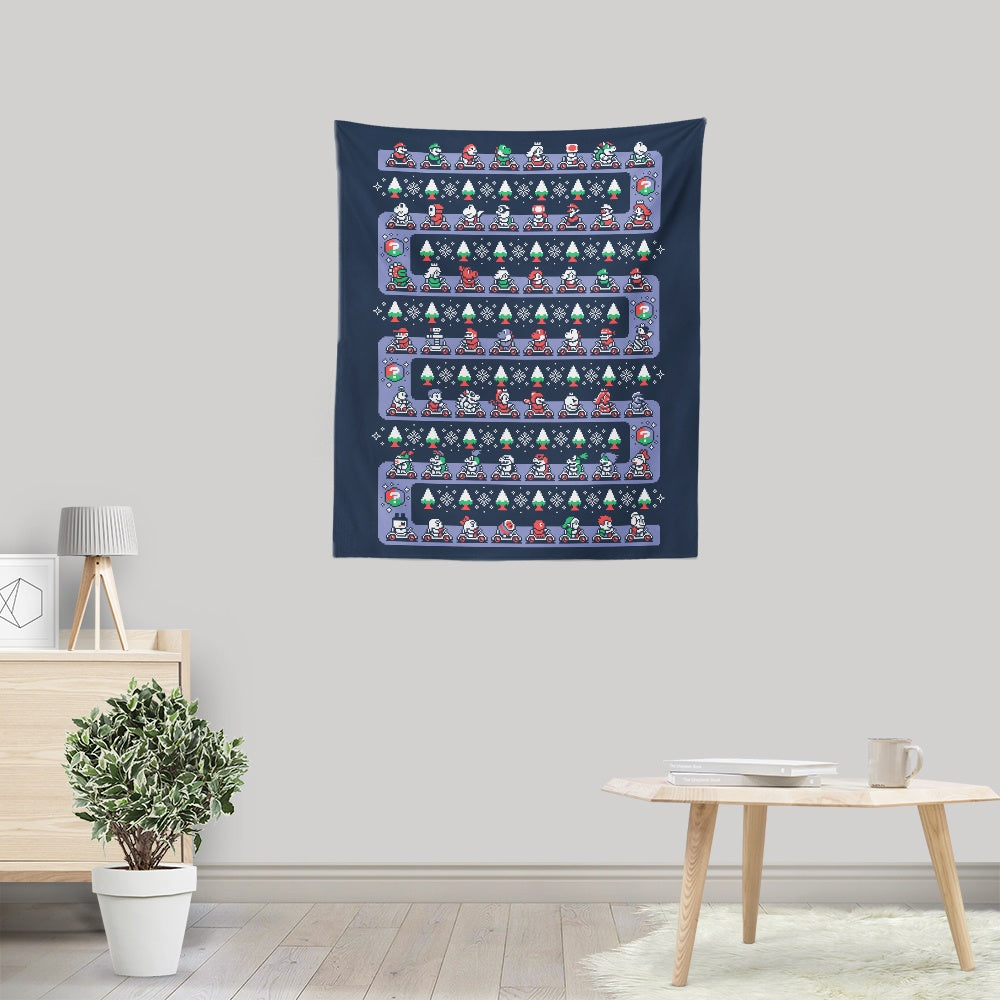 Super Holiday Kart - Wall Tapestry