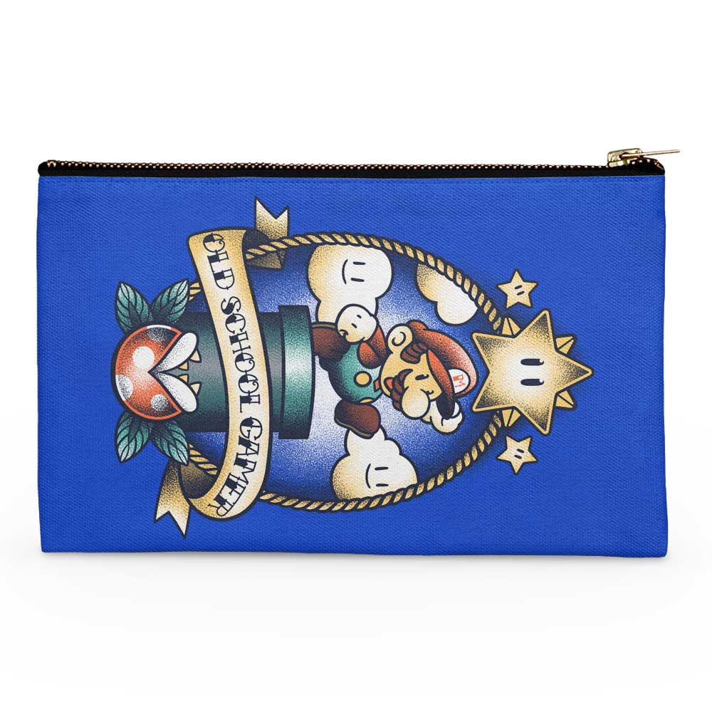 Super Old School Gamer - Accessory Pouch