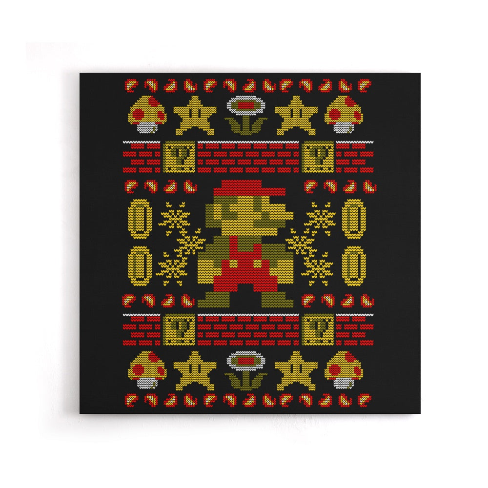 Super Ugly Sweater - Canvas Print