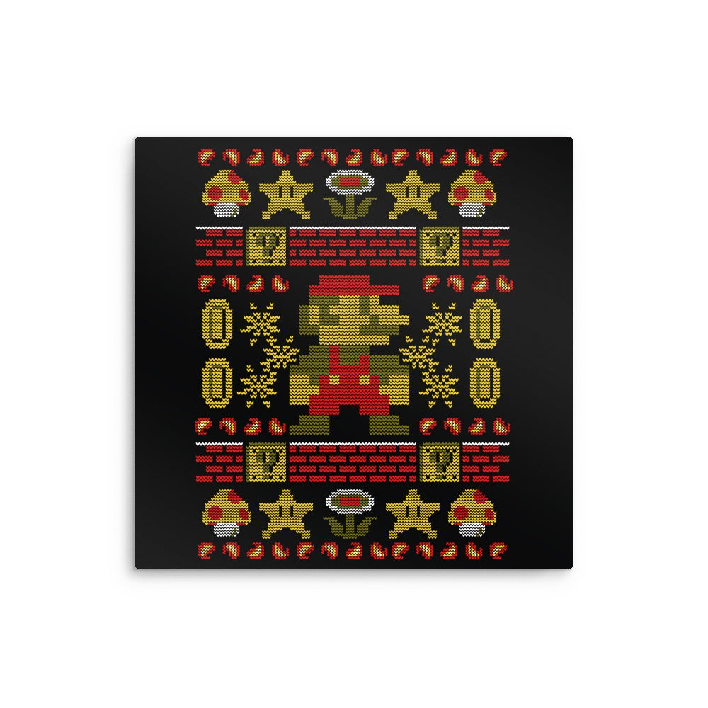 Super Ugly Sweater - Metal Print