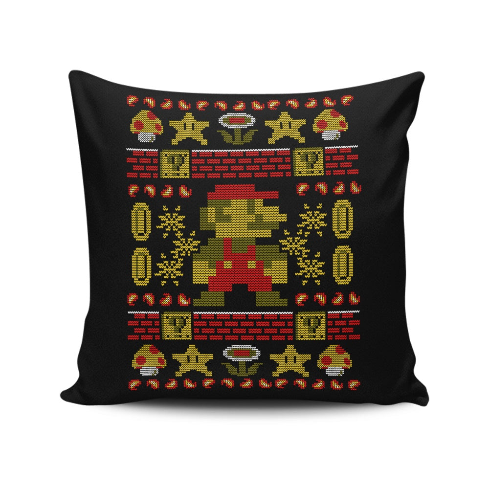 Super Ugly Sweater - Throw Pillow