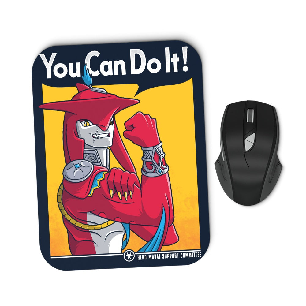 Supportive Shark Man - Mousepad