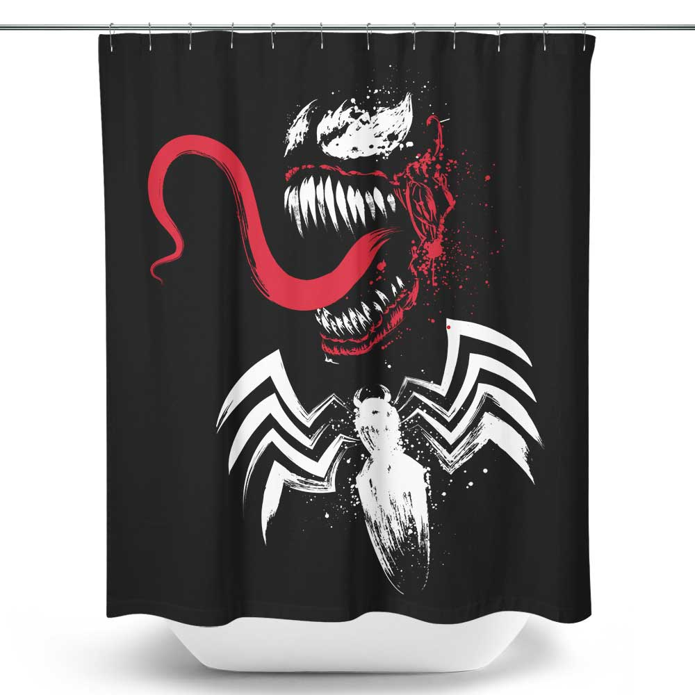 Symbiote - Shower Curtain