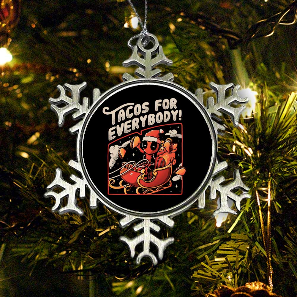 Tacos for Everybody - Ornament