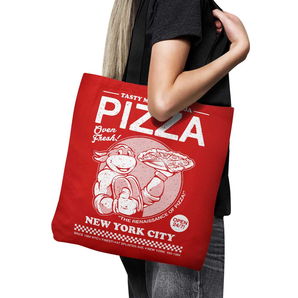 Tasty Mutant Ninja Pizza - Tote Bag