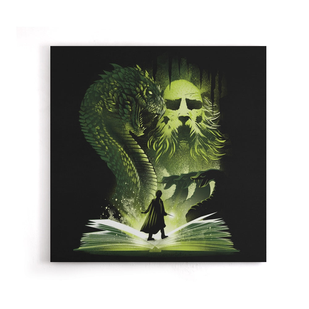 The 2nd Book of Magic - Canvas Print
