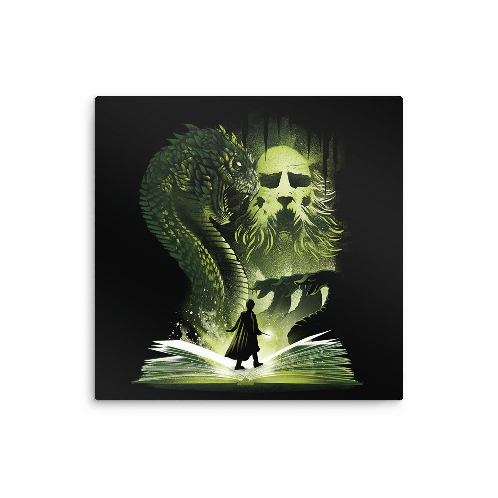 The 2nd Book of Magic - Metal Print