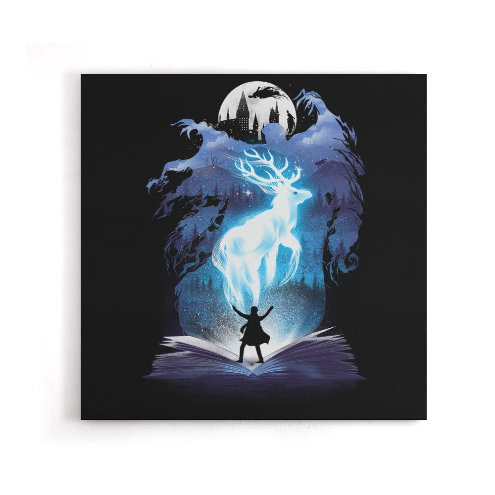 The 3rd Book of Magic - Canvas Print