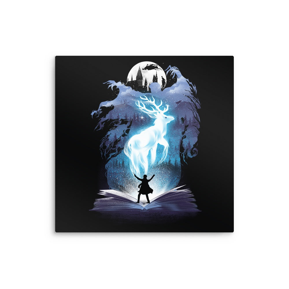 The 3rd Book of Magic - Metal Print