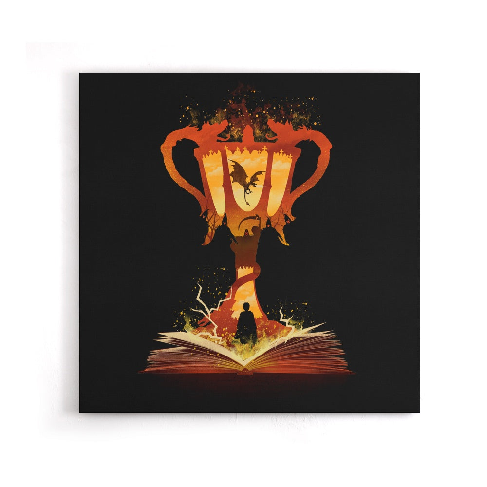 The 4th Book of Magic - Canvas Print