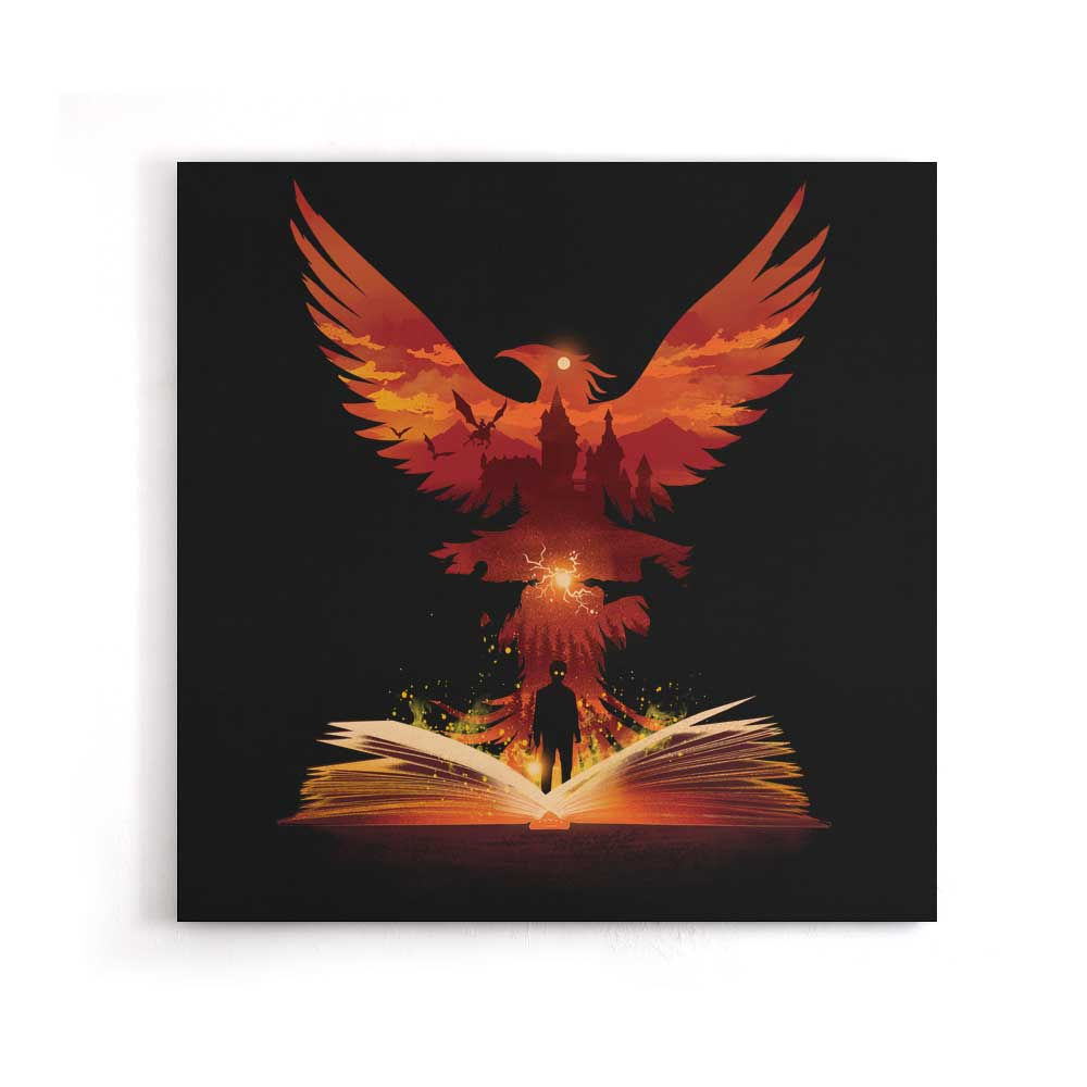 The 5th Book of Magic - Canvas Print