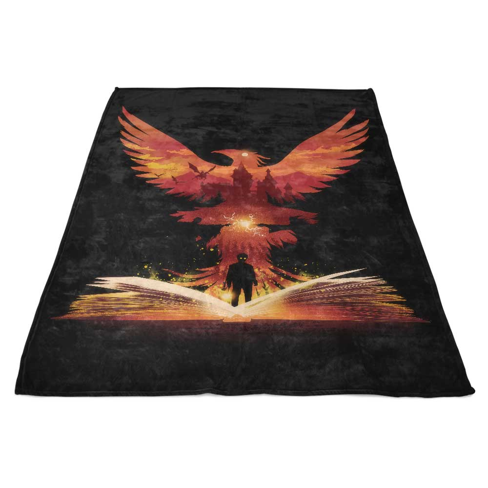 The 5th Book of Magic - Fleece Blanket