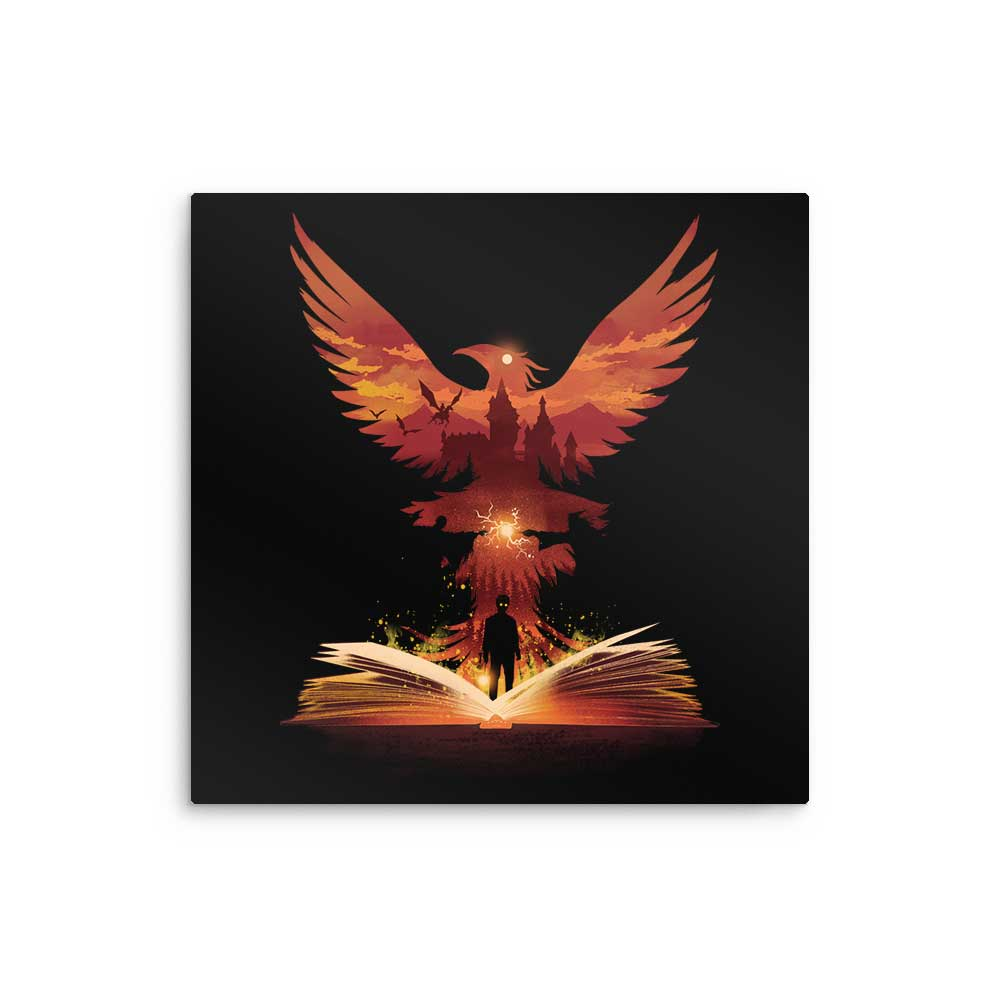 The 5th Book of Magic - Metal Print
